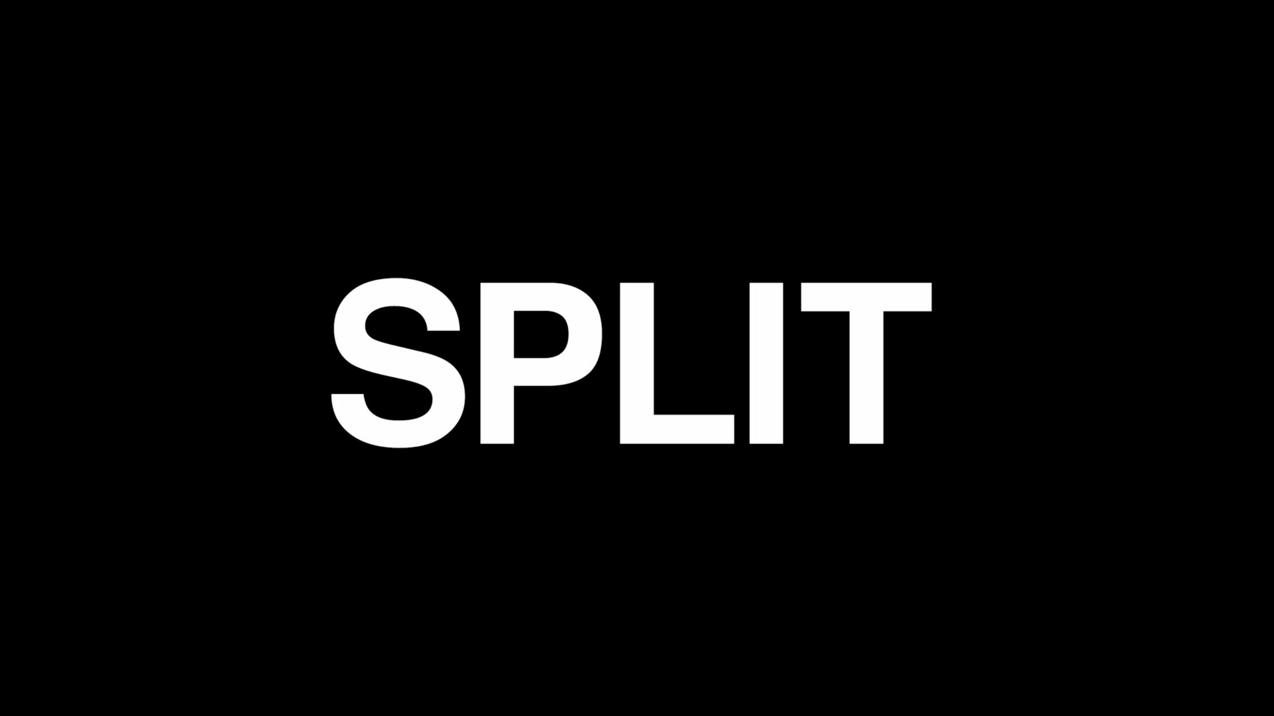 Text Graphics in Video - Top Trends - Split