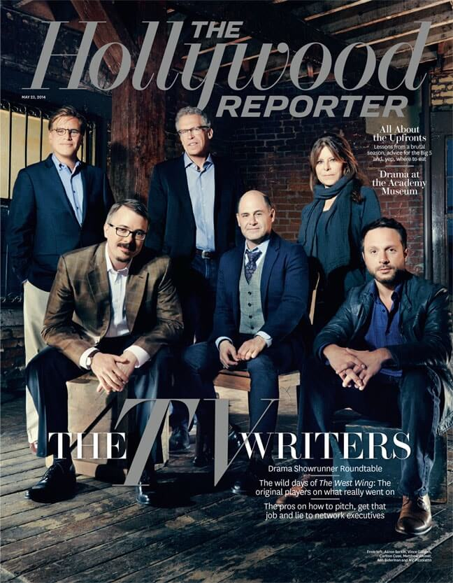 What Does a Producer Do - What does a TV Producer Do Hollywood Reporter cover of TV Producers - StudioBinder