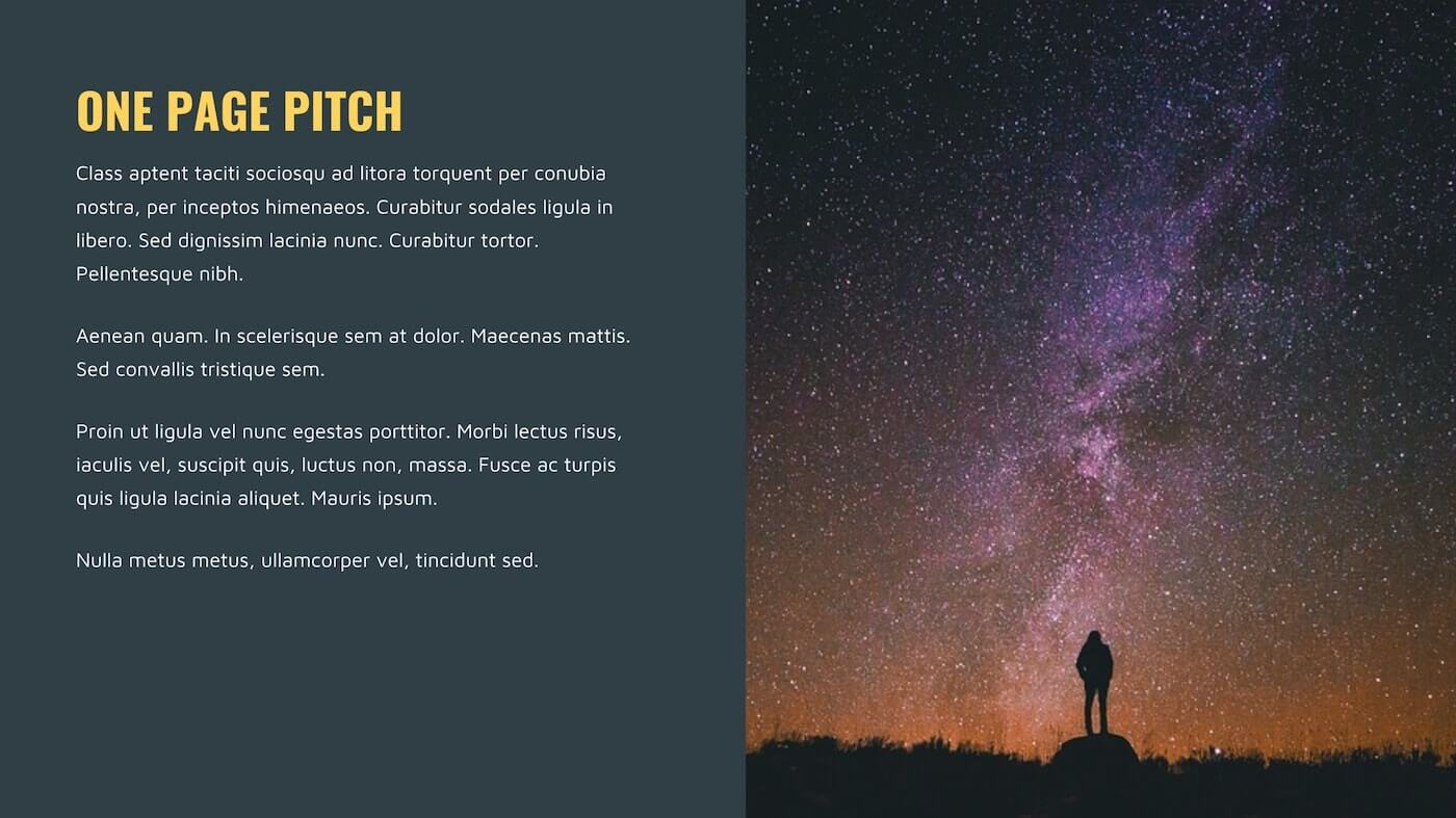 How to Create a TV Show Pitch Bible that Sells - One Page Pitch- StudioBinder