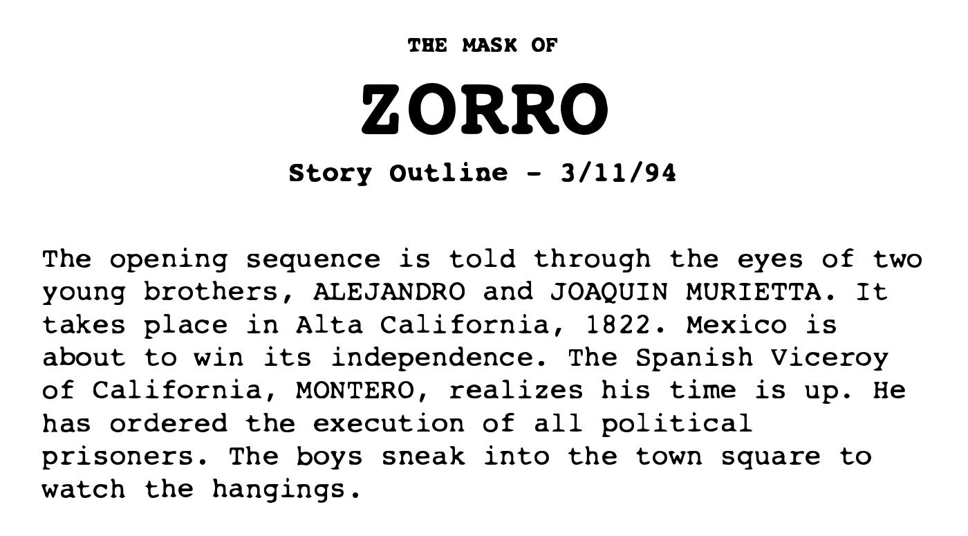 documentary storyline example
