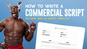 How to use an av script template - Featured Image - studiobinder