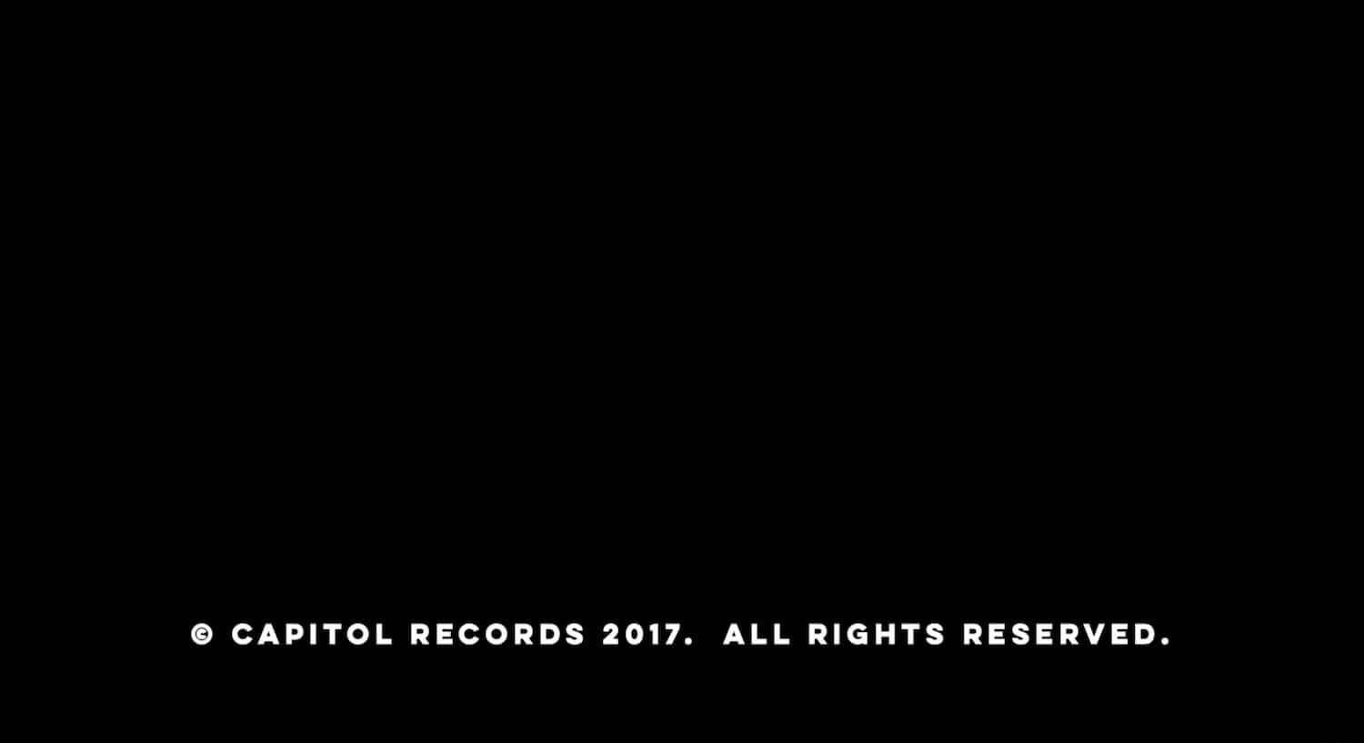 The Essential Music Video Credits Format Guide - A copyright music video title card closes