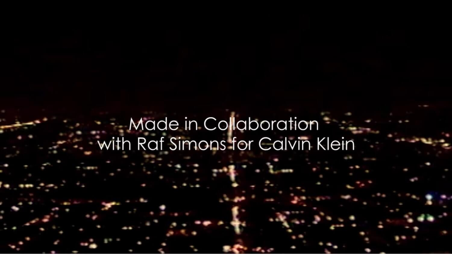 The Essential Music Video Credits Format Guide - I dare you by the XX was a collaboration with Calvin Klein