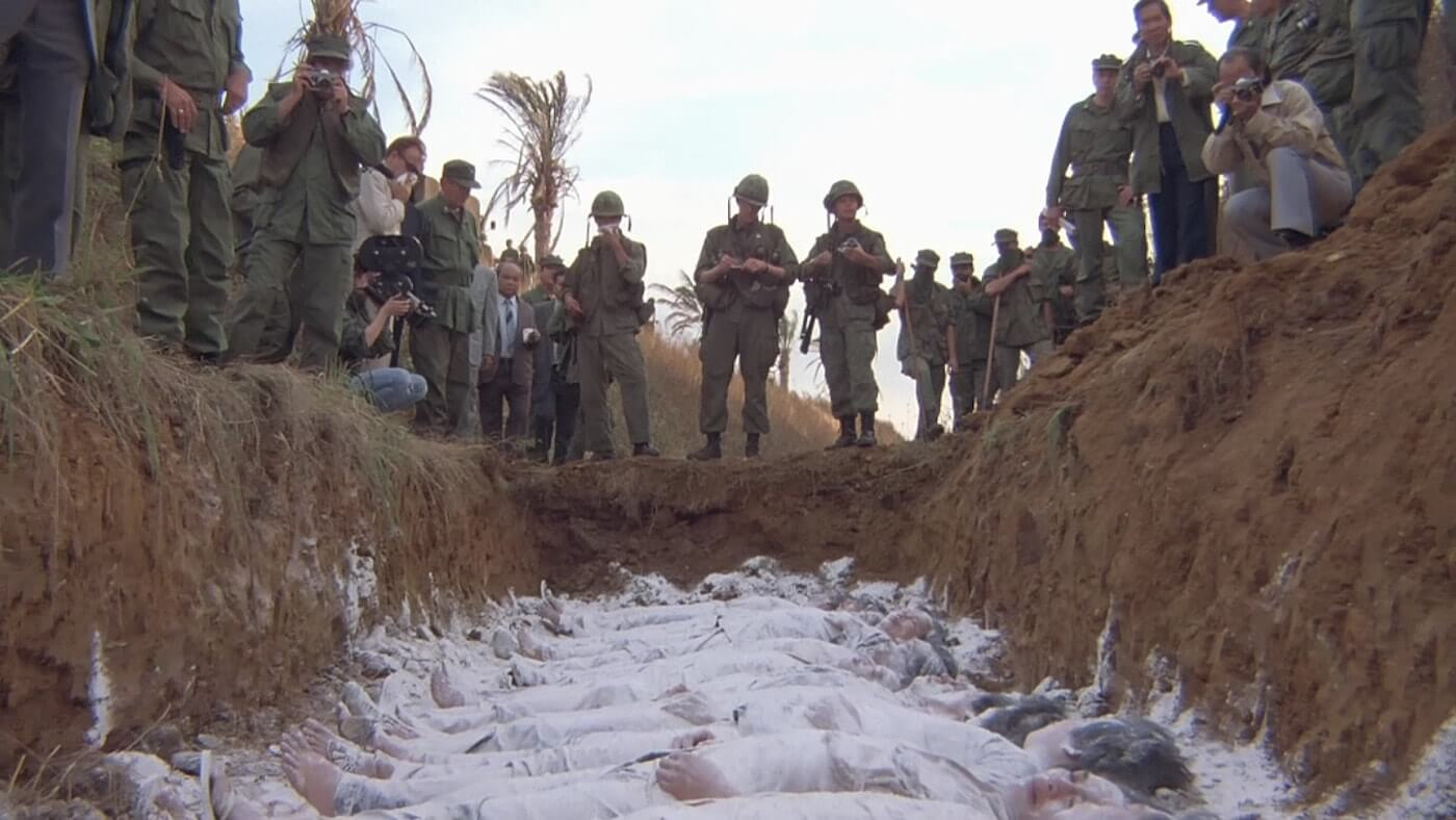 Ultimate Guide To Camera Shots - A Chilling Ground Level Zoom Shot From Full Metal Jacket