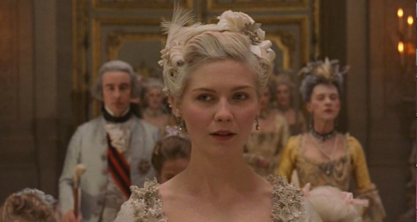 Ultimate Guide To Camera Shots - A Shallow Focus Depth of Field Shot From Marie Antoinette