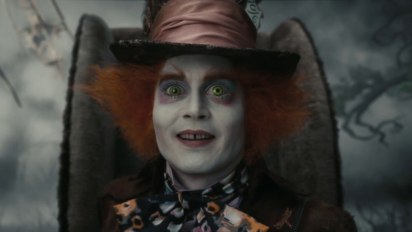 Ultimate Guide To Camera Shots - An Eye Level Close Up On The Mad Hatter