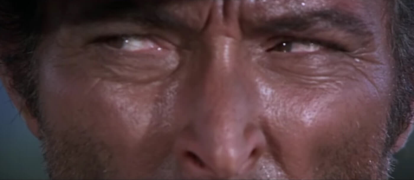 Ultimate Guide To Camera Shots - Extreme Close Up On Eyes In The Good The Bad And The Ugly
