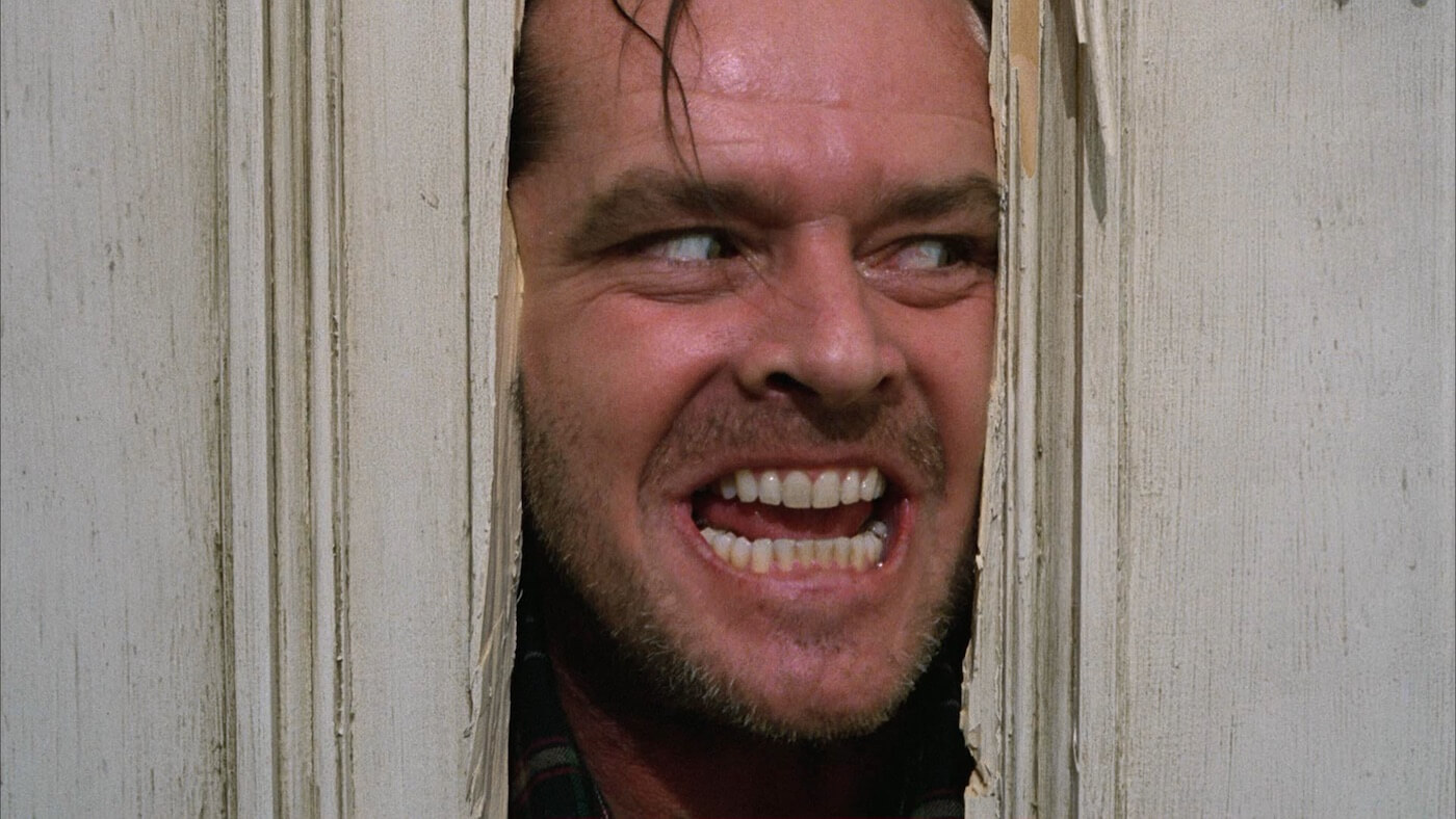 Ultimate Guide To Camera Shots - This Closeup Example Put Jack's Unbound Insanity Of Full Display The Shining