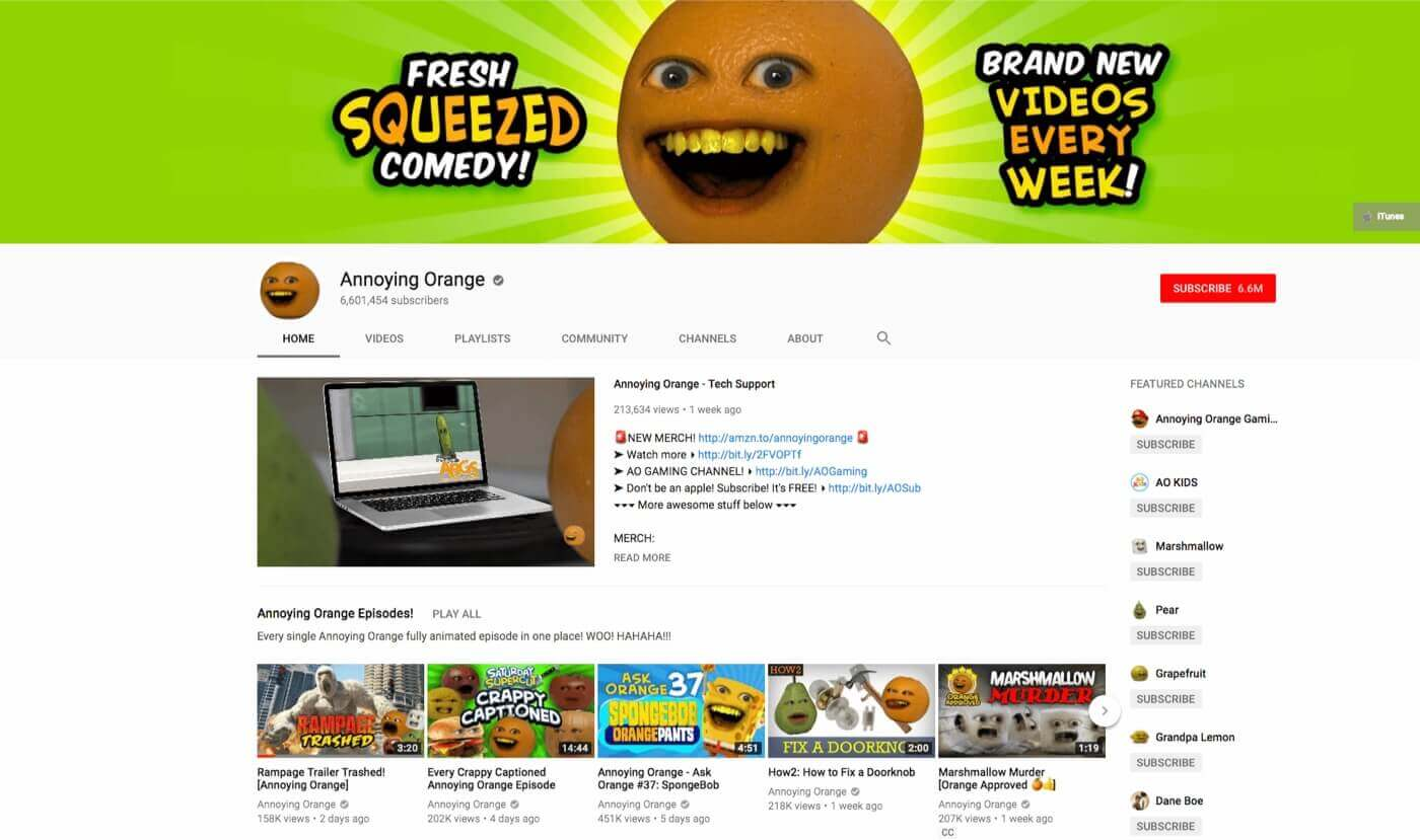 Youtube Intro Templates You Need For Your Channel - Orange Site