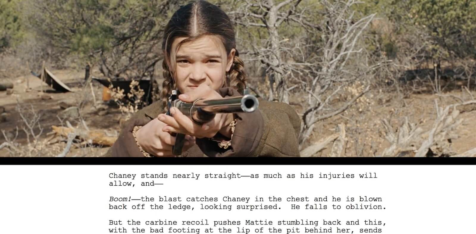 Screenwriting Tips and Strategies from Coen Brothers - True Grit - 1