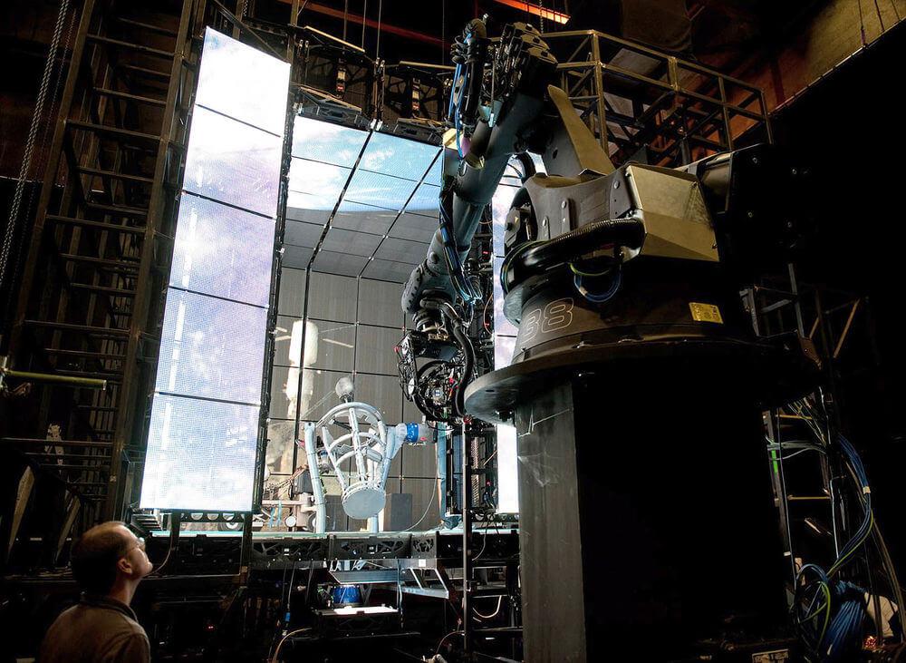 Alfonso Cuaron Movies - Gravity Camera Rig Setup