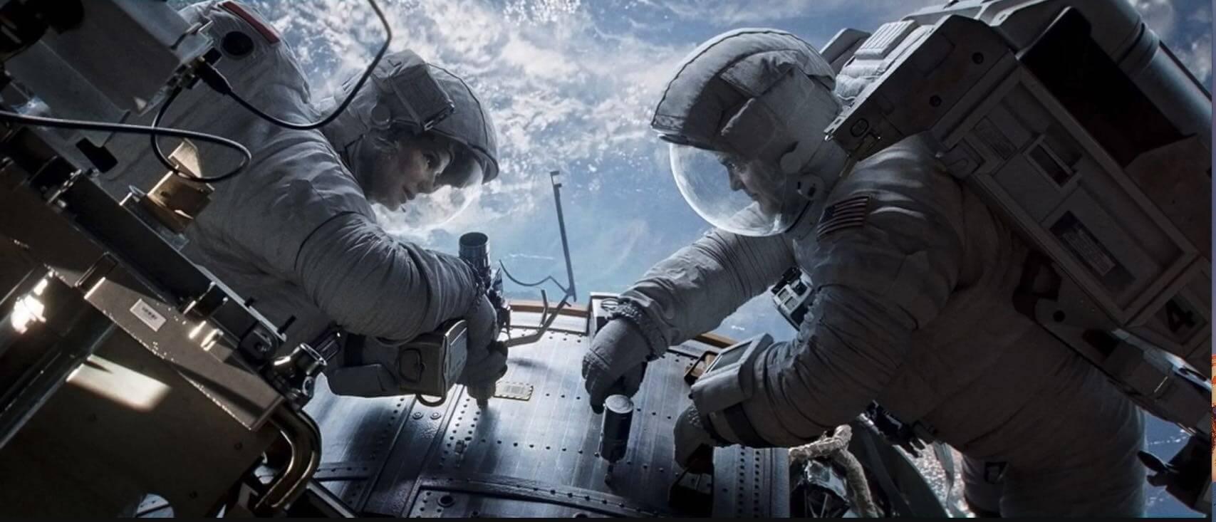 Alfonso Cuaron Movies - Gravity Opening Scene