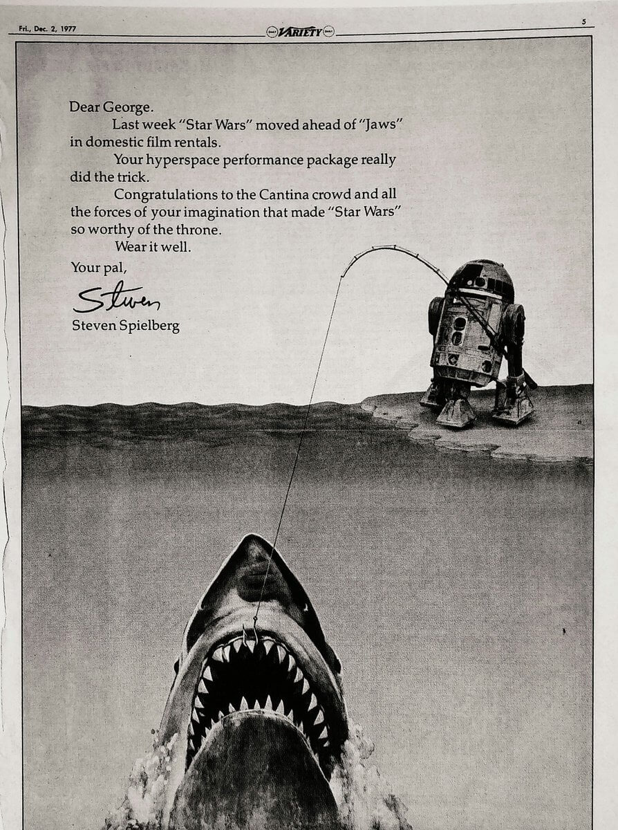 Auteur Theory - The Secret Behind the Best Auteur Directors - Jaws Spielberg Letter