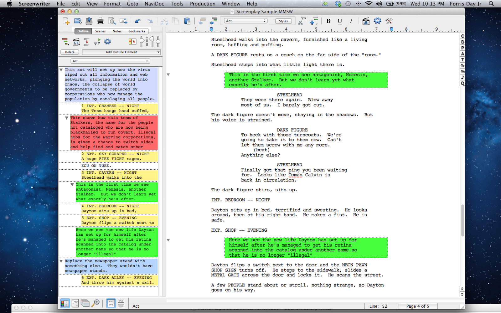 Best Screenwriting Software for Film and TV - Movie Magic Screenwriter
