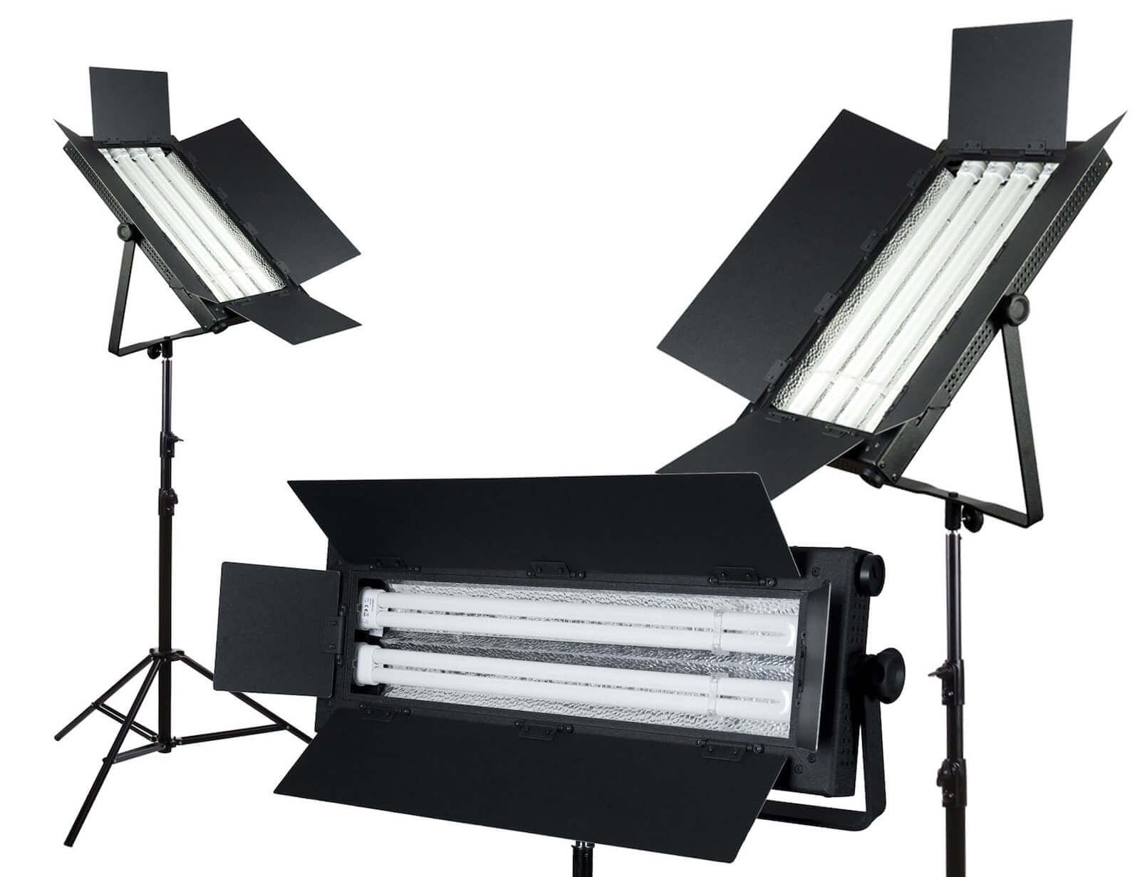 Best Video Lighting Kits - Production Lighting - Fluorescent Film Lights