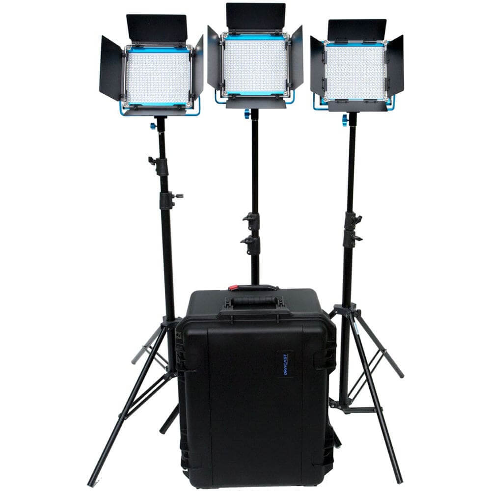 Best Video Lighting Kits - Production Lighting - LED Film Lighting Kit