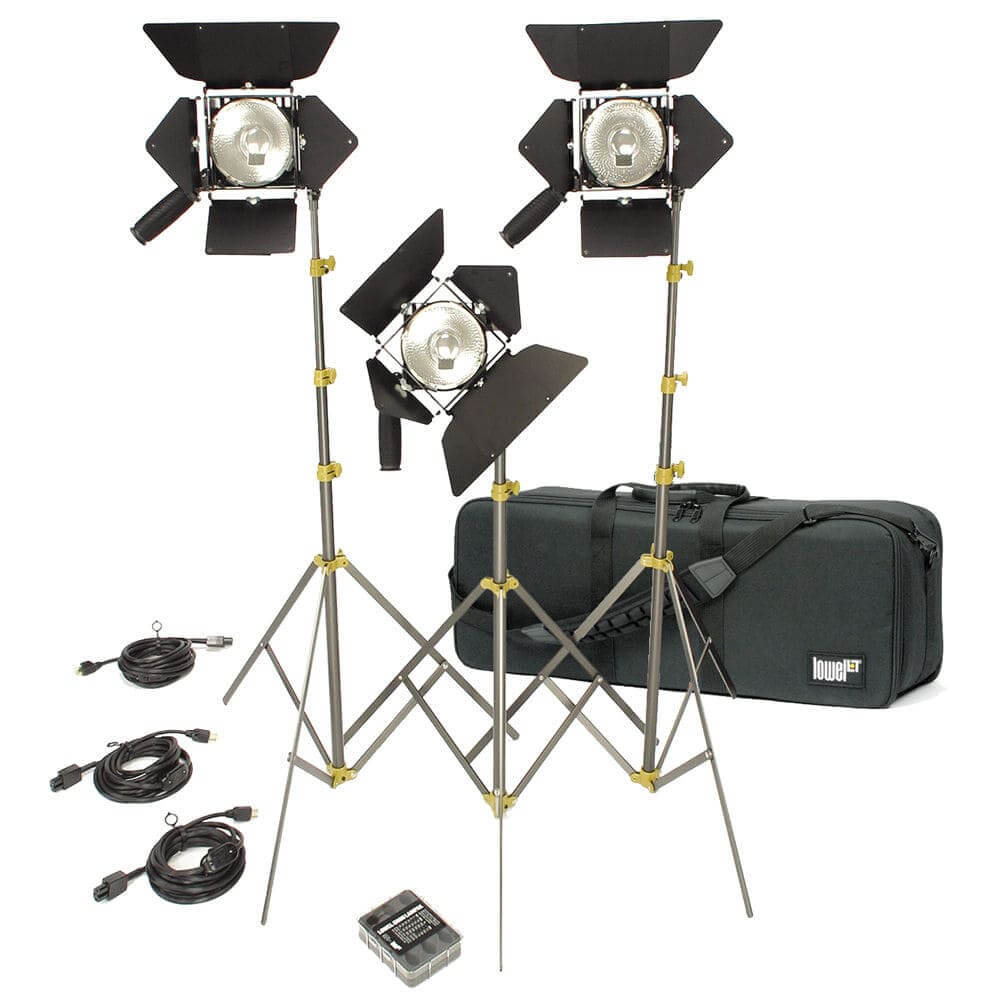 Best Video Lighting Kits - Production Lighting - Tungesten Film Lights