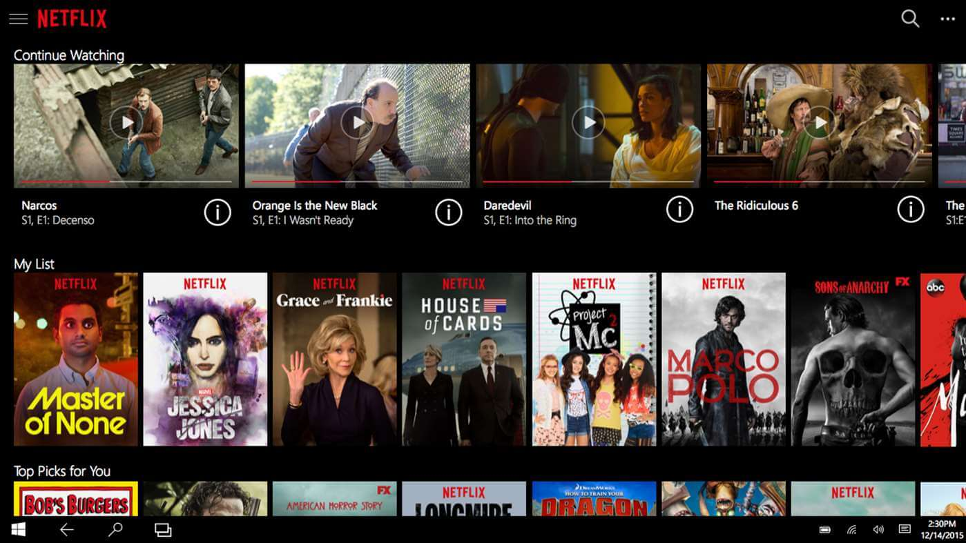 Film Distribution for Film - Netflix