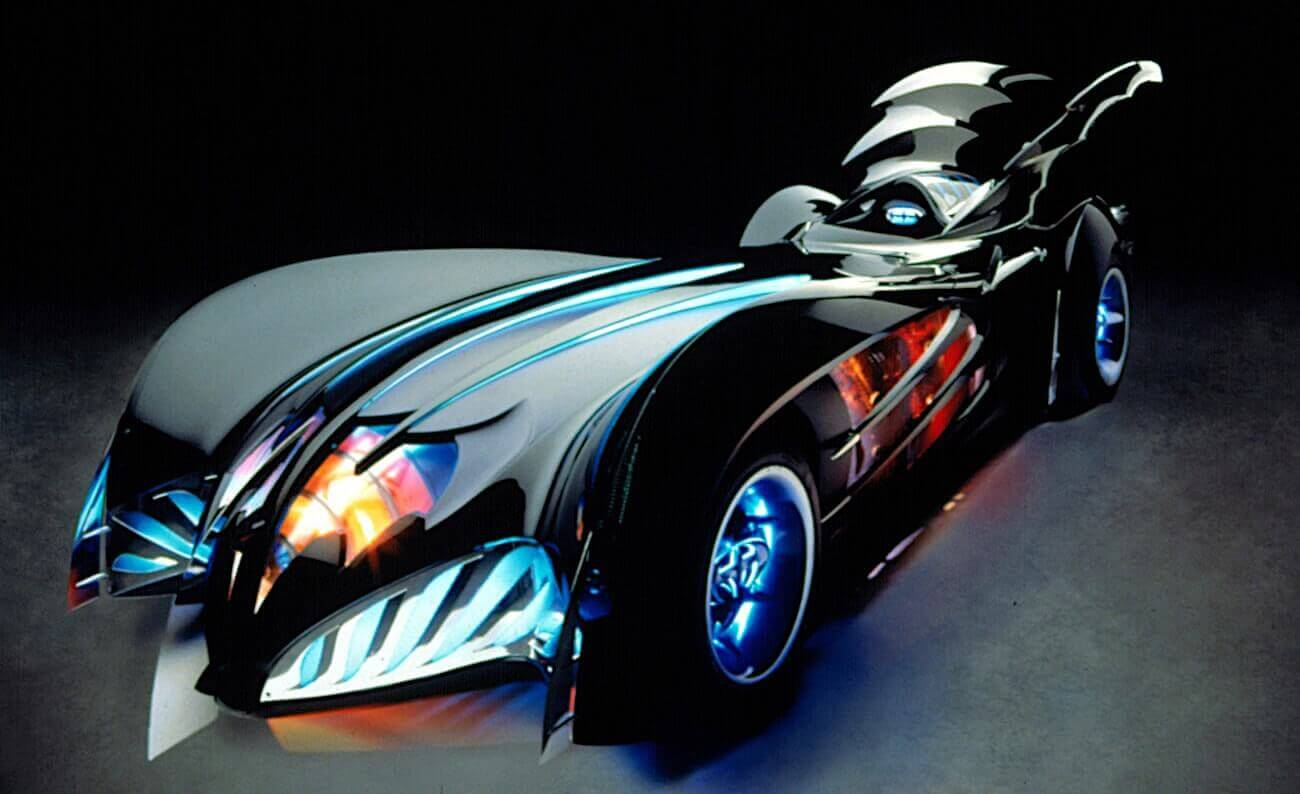Mise en Scene Definition in Film - Batmobile
