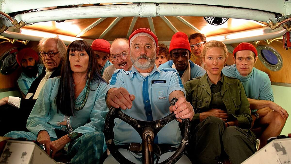 Mise en Scene Definition in Film - Life Aquatic