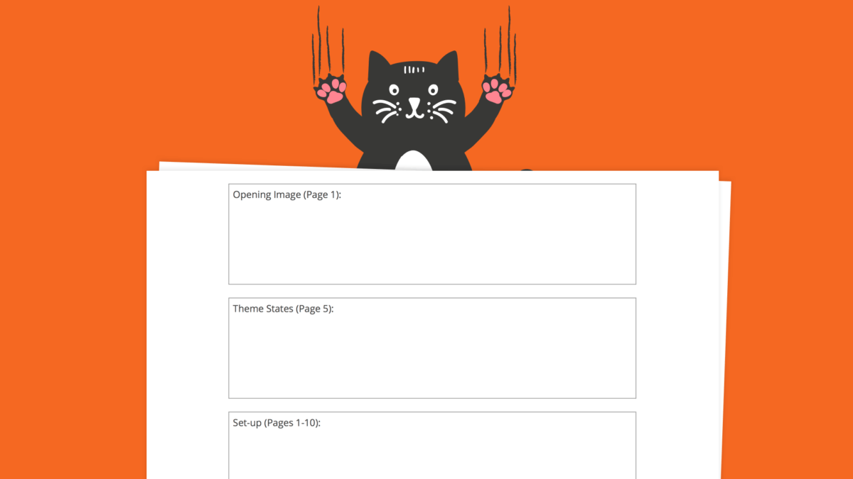 Save the cat film beat sheet template header studiobinder for Save the cat template