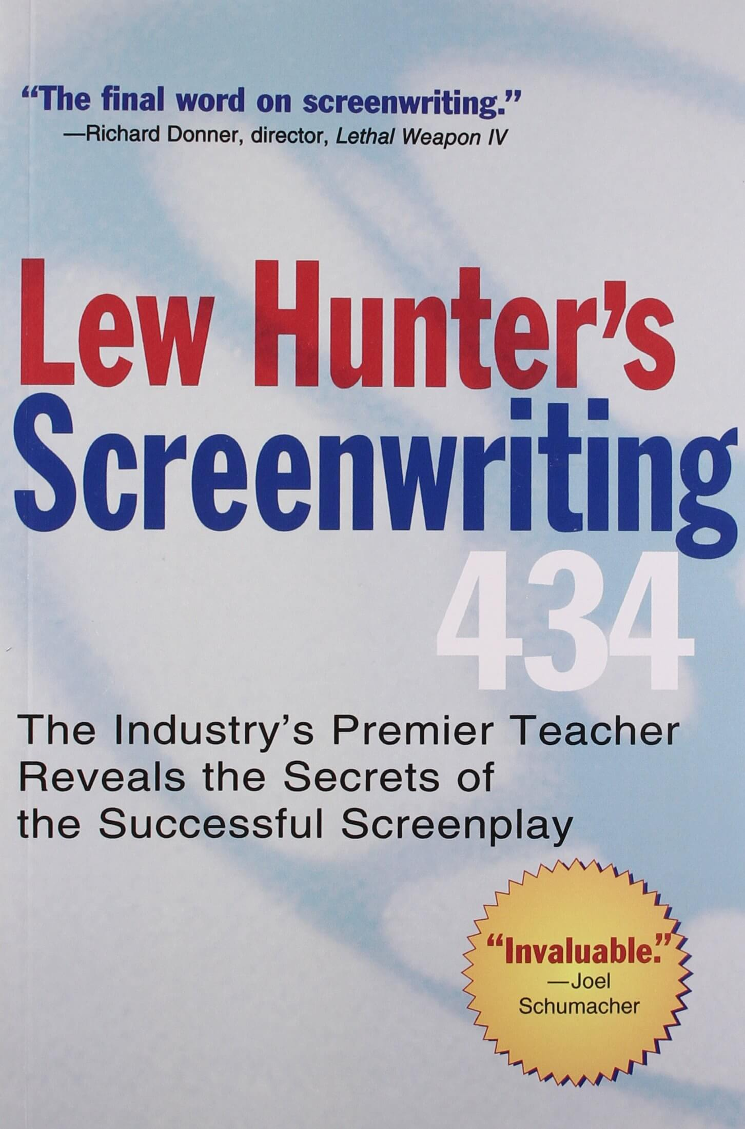 The Best Screenwriting Books for Screenwriters - Lew Hunter's Screenwriting 434-min