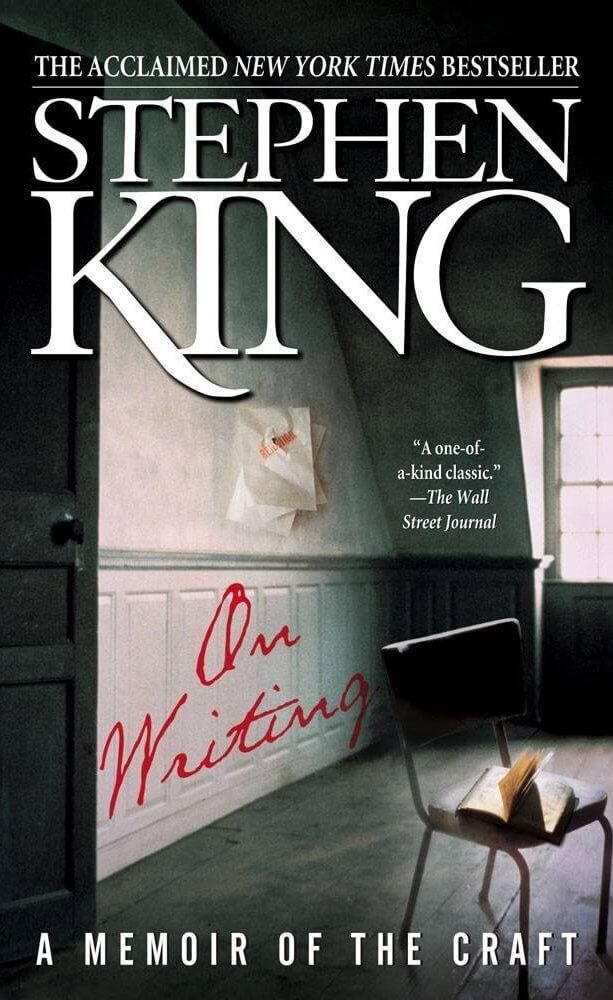 The Best Screenwriting Books for Screenwriters - Stephen King On Writing-min