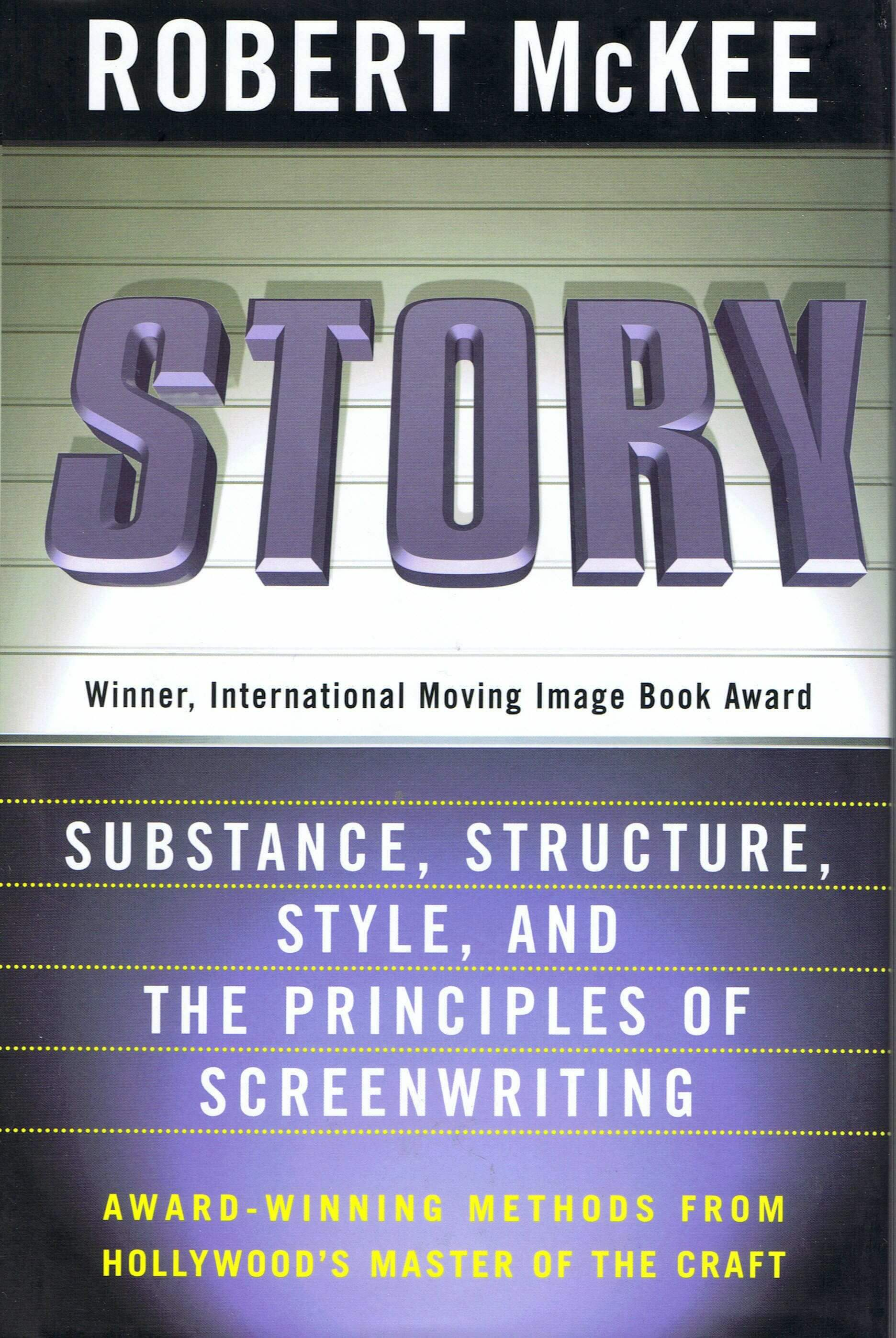 The Best Screenwriting Books for Screenwriters - Story by Robert McKee-min
