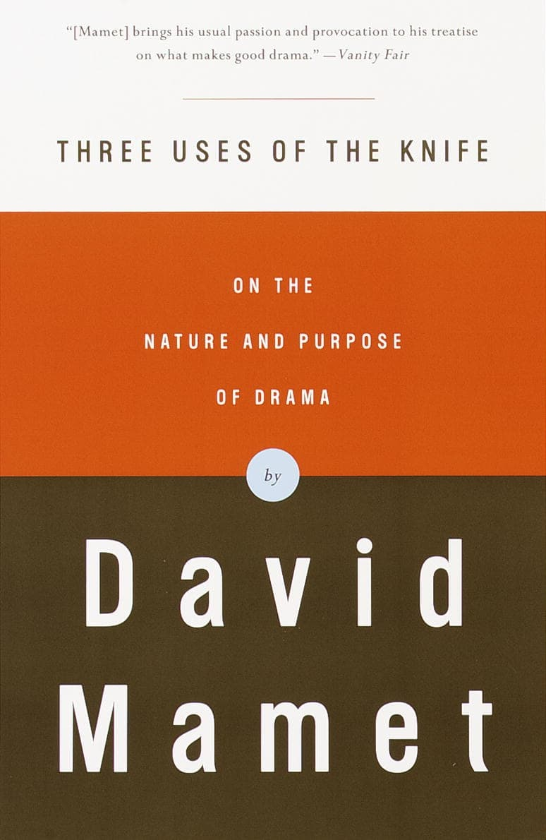The Best Screenwriting Books for Screenwriters - Three Uses of The Knife