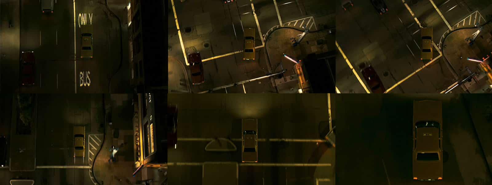 Aerial Shot - Camera Angles - Zodiac gods eye view