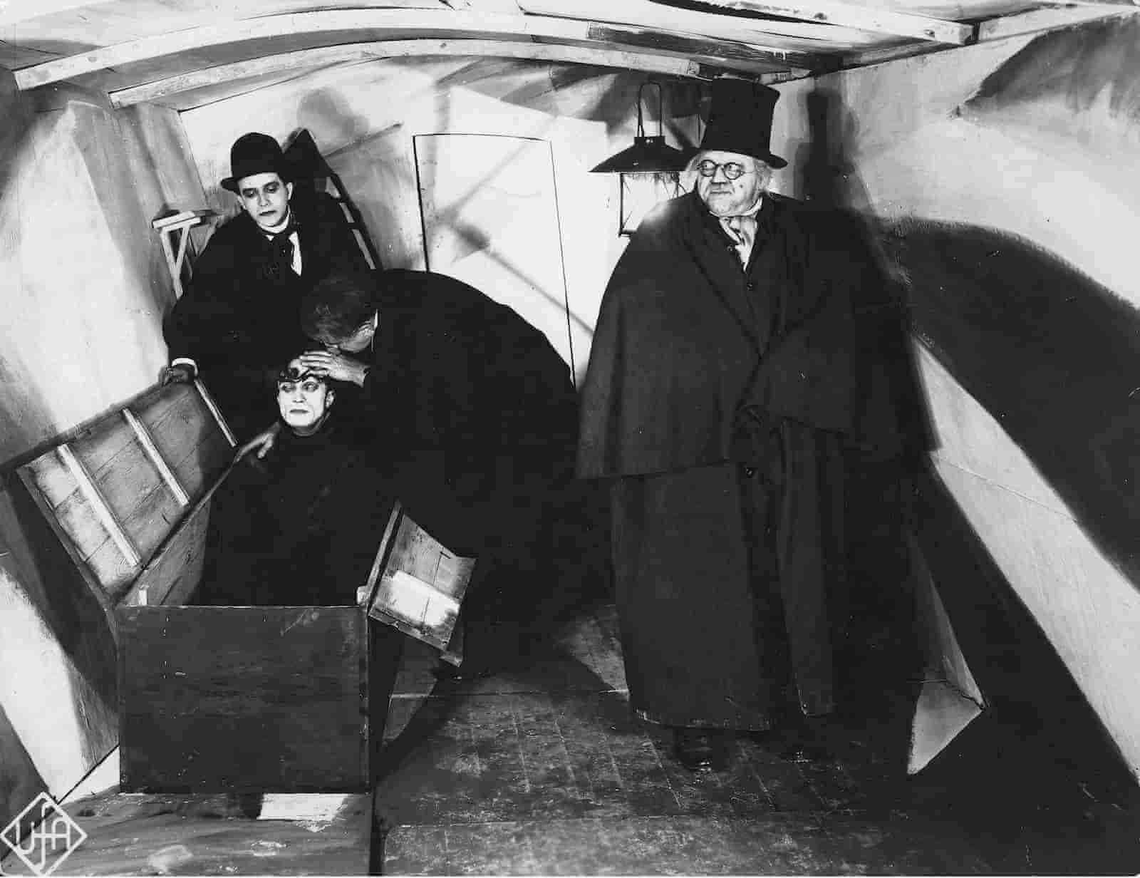Dutch Angle - Camera Shots - Cabinet of Dr Caligari