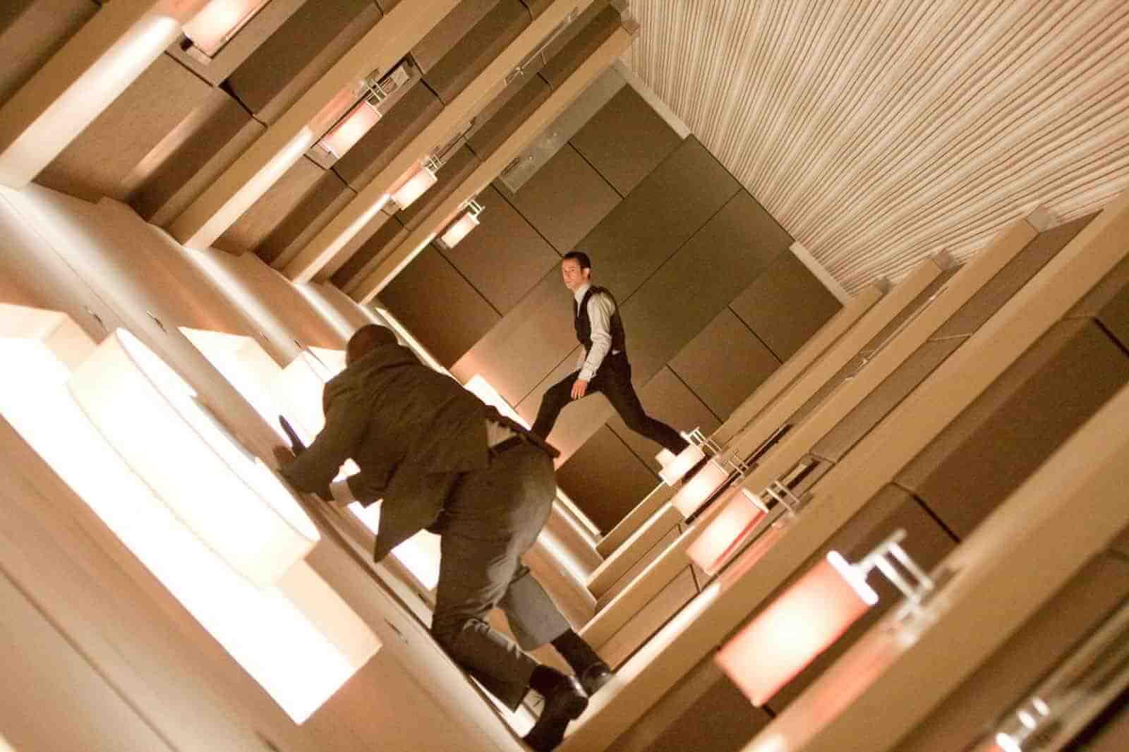 Dutch Angle - Camera Shots - Inception Hallway