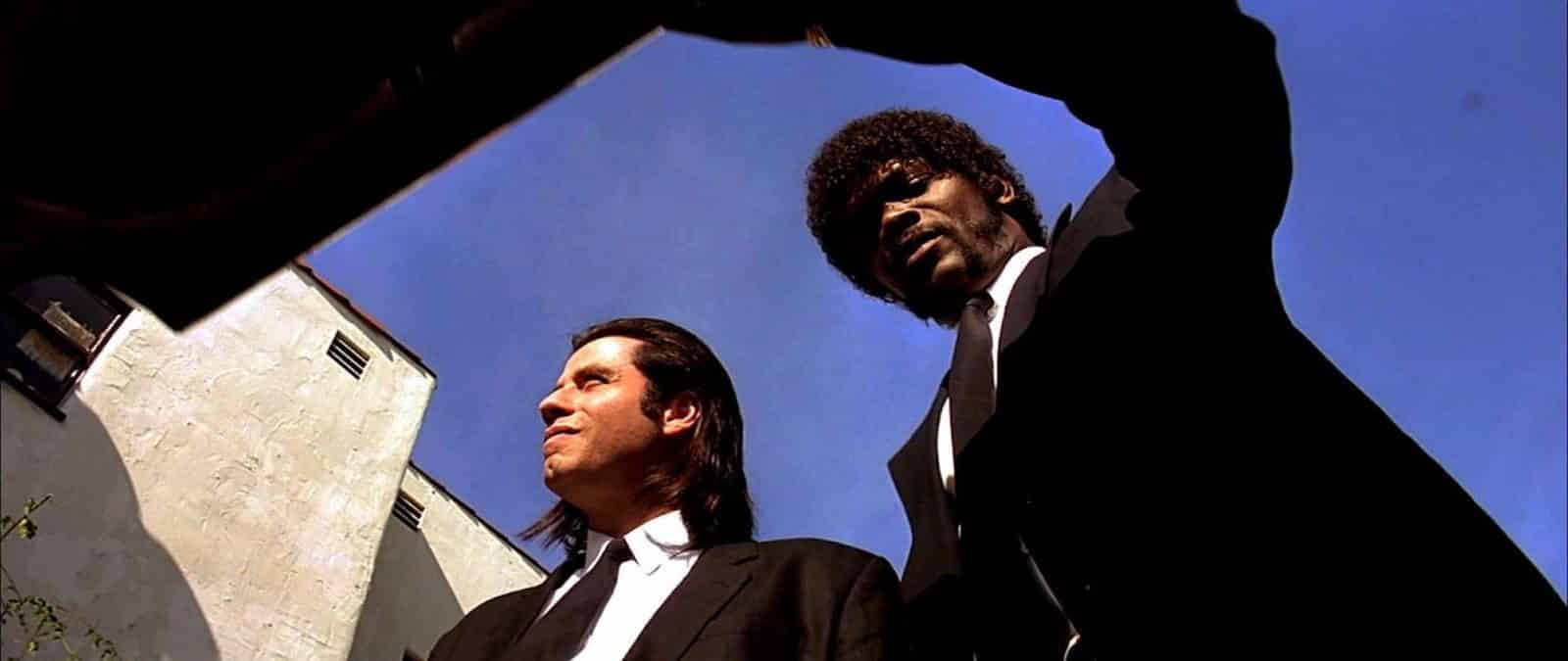 Low Angle Shot - Low Angle Example - Pulp Fiction