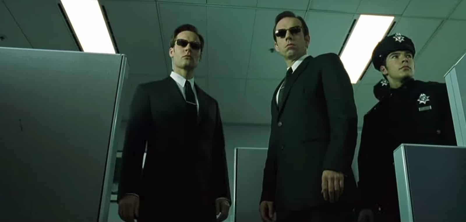 Low Angle Shot - Low Angle Example - The Matrix