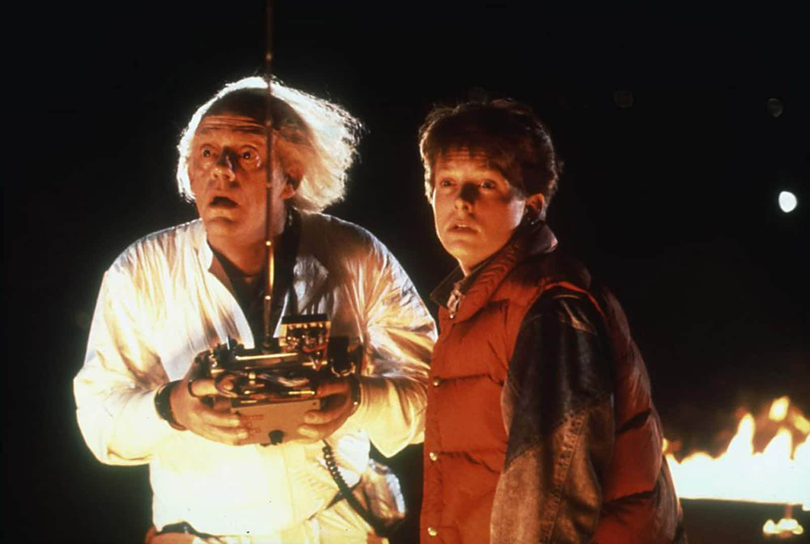 Script Notes - Back to the Future - Marty and Doc