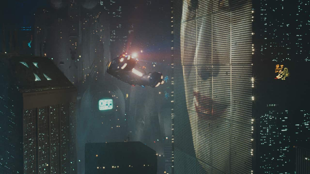 Wide Angle Shot - Camera Movements and Angles- Blade Runner