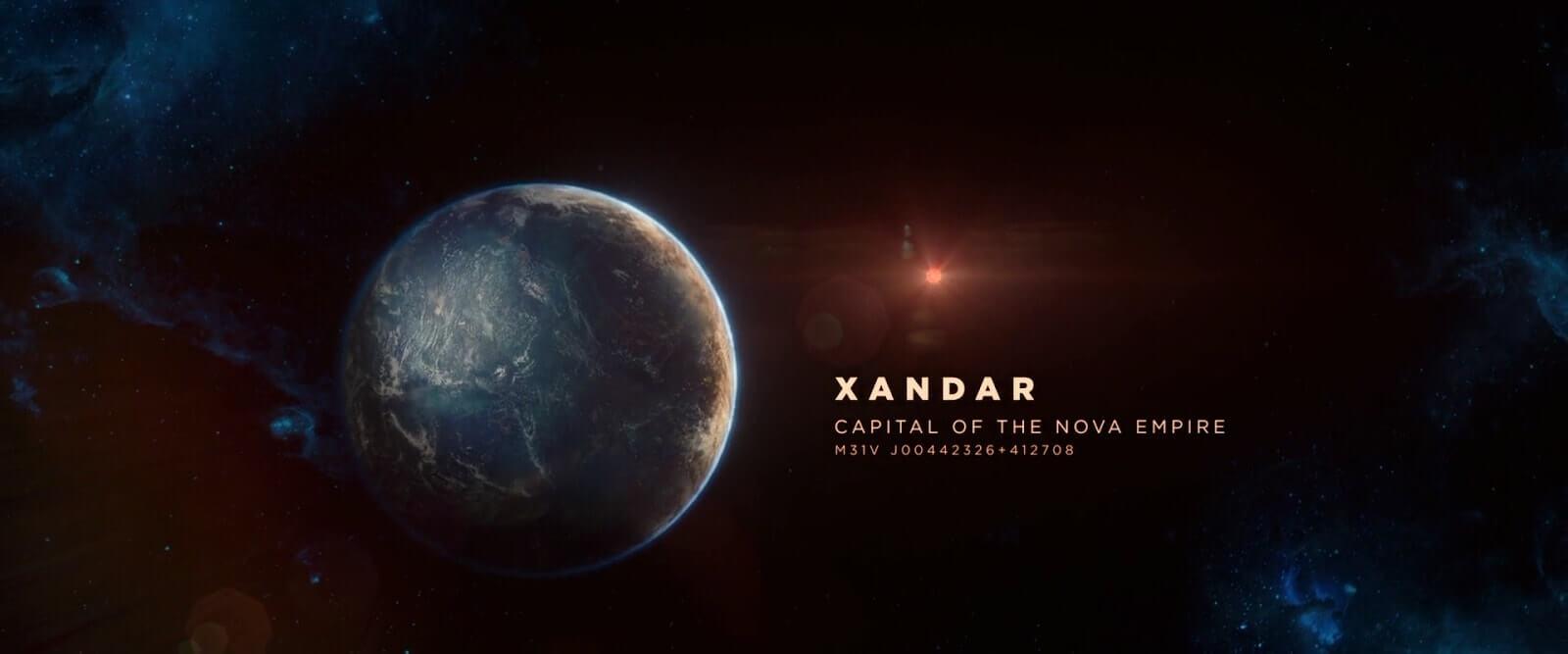 Wide Angle Shot - Camera Movements and Angles- Guardians of the Galaxy - Xandar