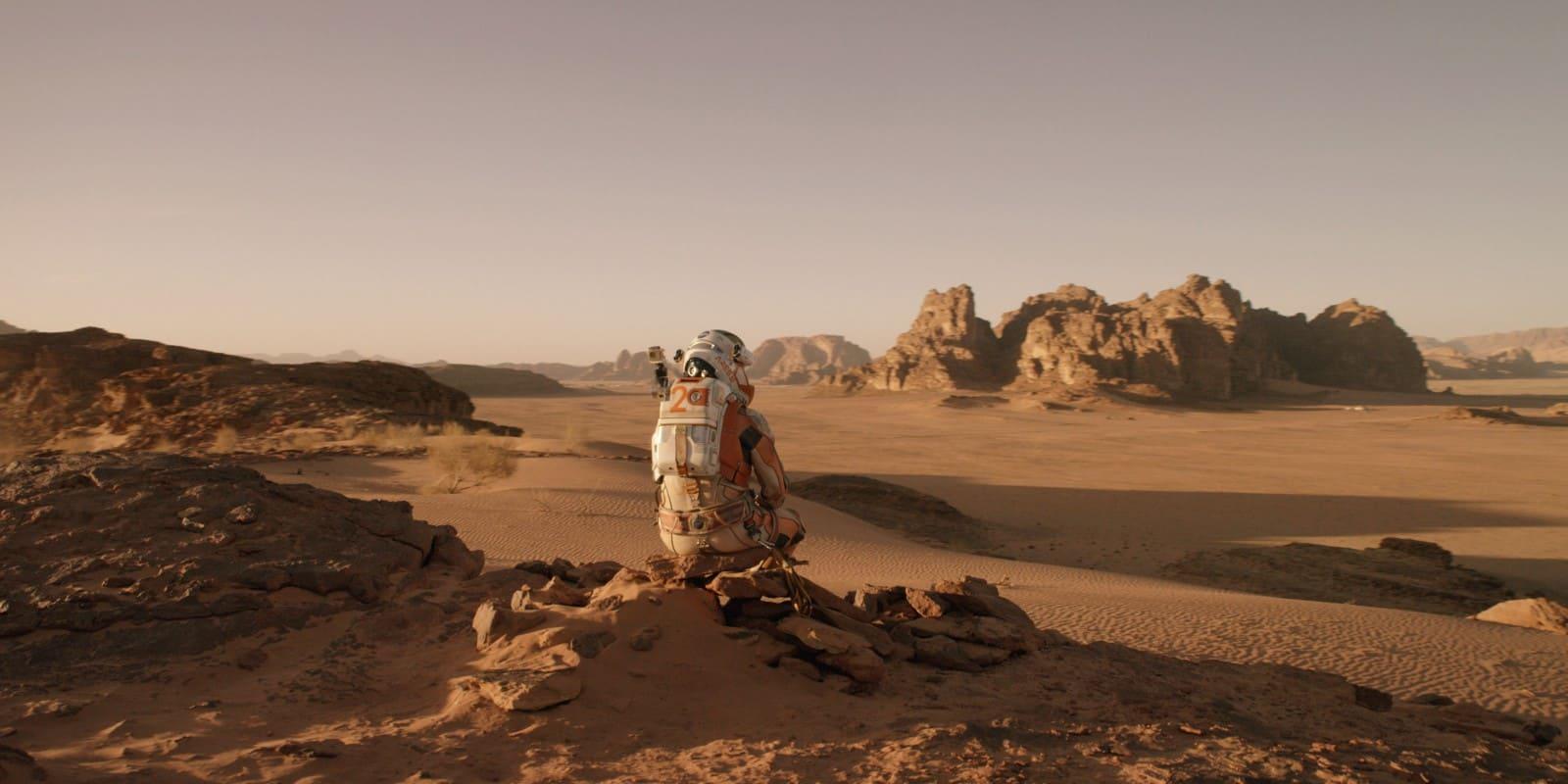 Wide Angle Shot - Camera Movements and Angles- The Martian