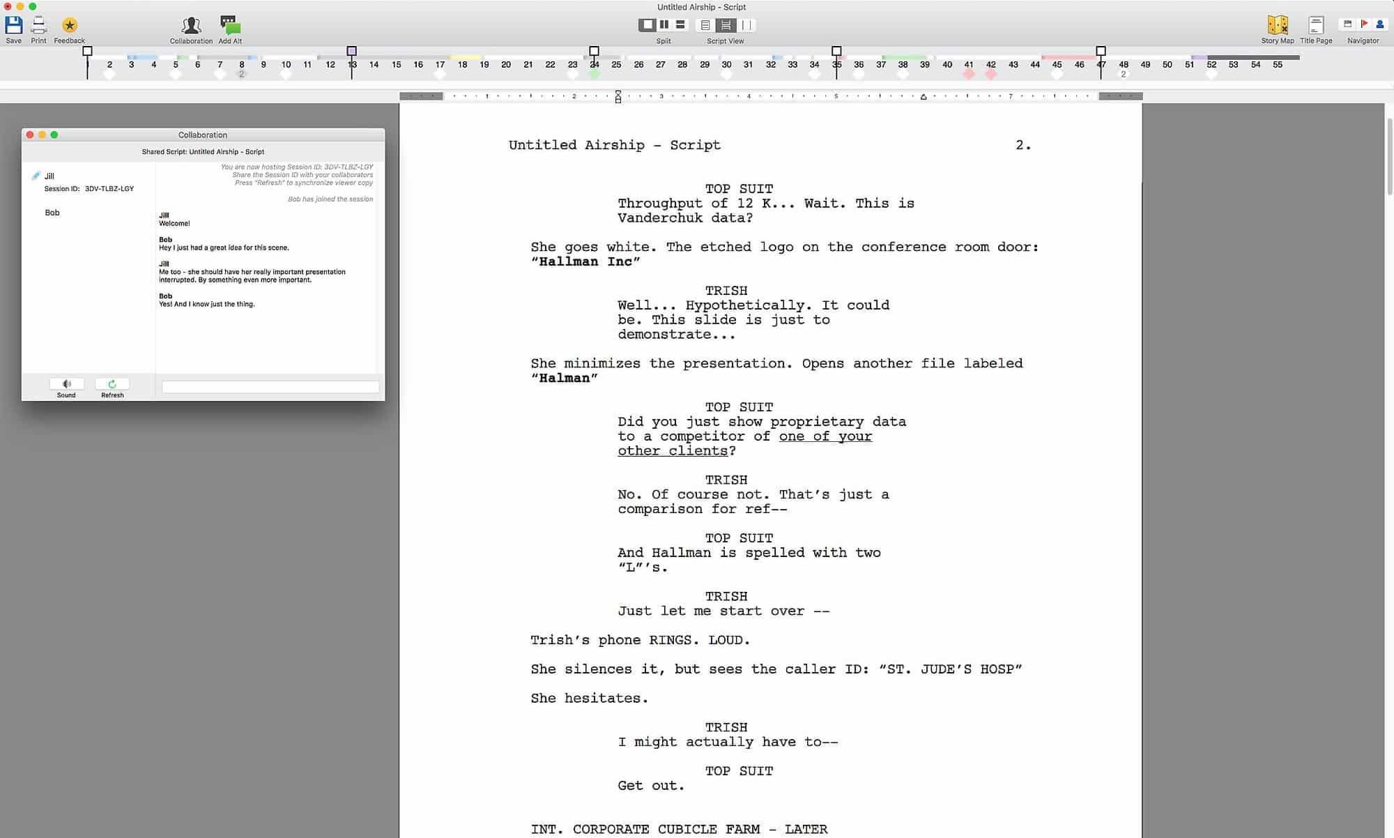 final draft screenwriting software free download
