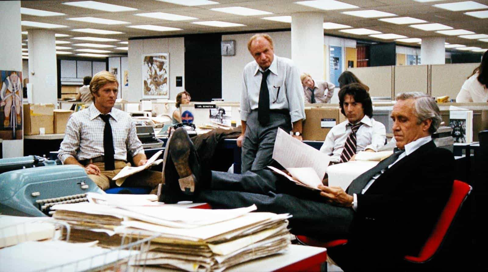 Deep Focus Shot - Best Camera Movement and Camera Angles - All The President's Men