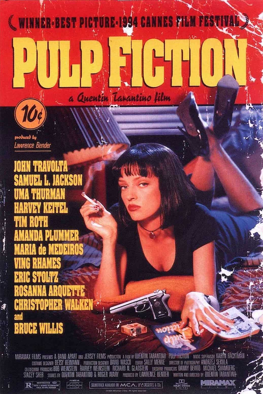 Screenplay Examples - Pulp Fiction Script - Movie Poster