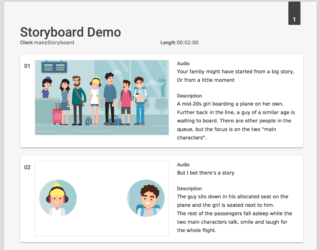 Best Storyboard Software - Make Storyboard