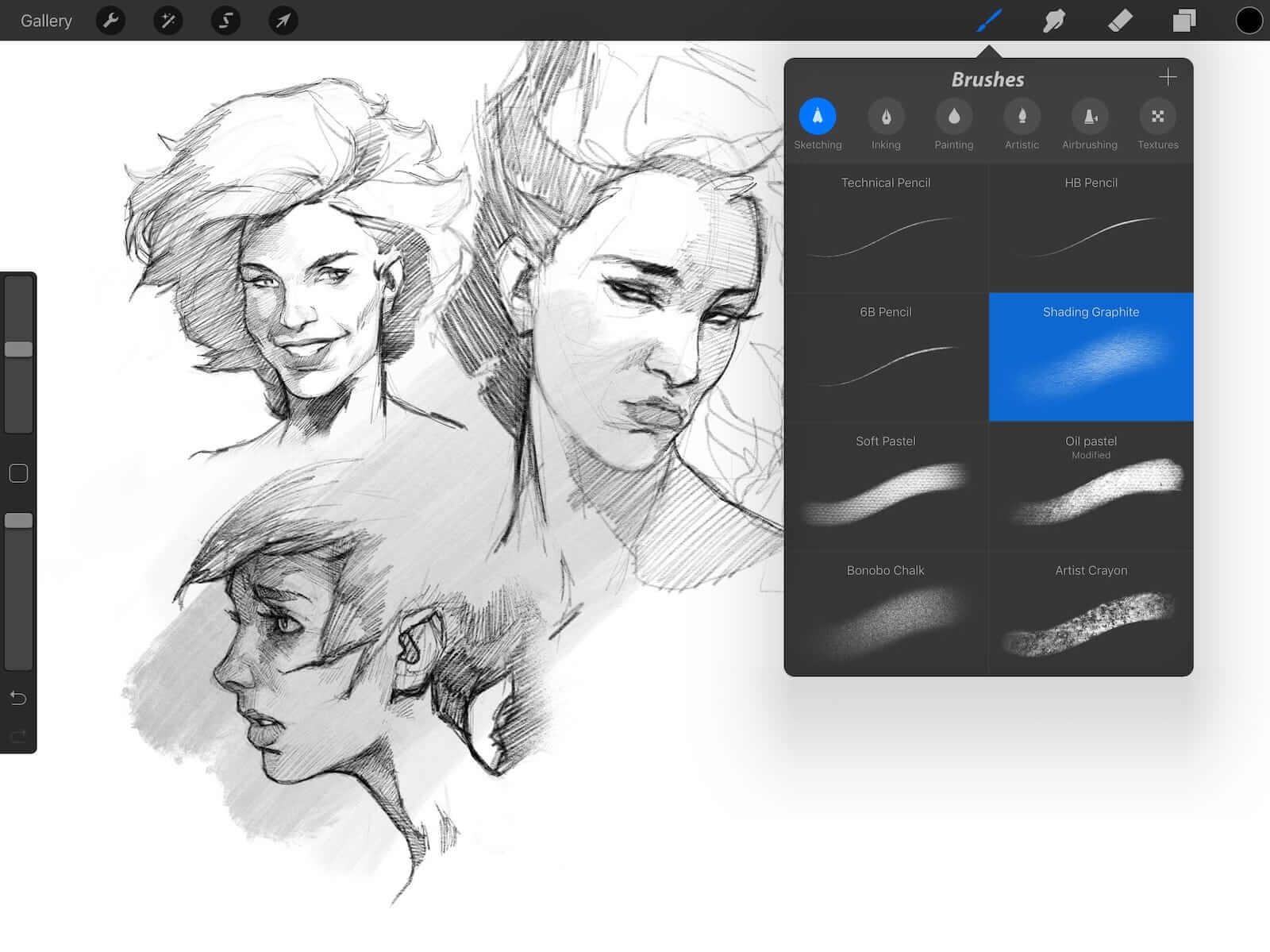 Best Storyboard Software - Procreate