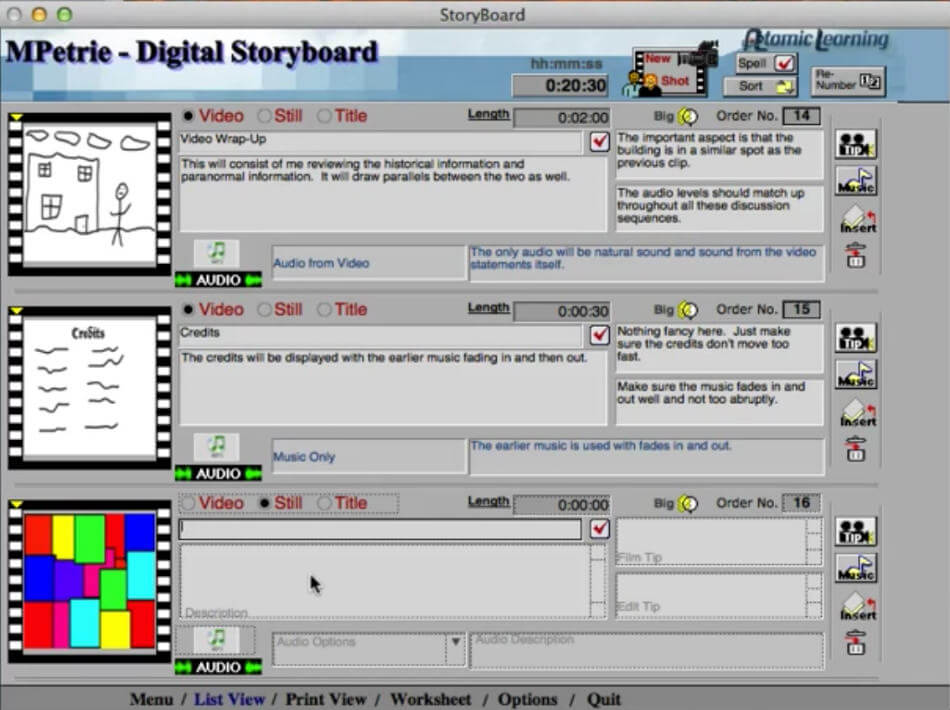 24 Best Storyboard Software Of 2019 With Free Storyboard Templates