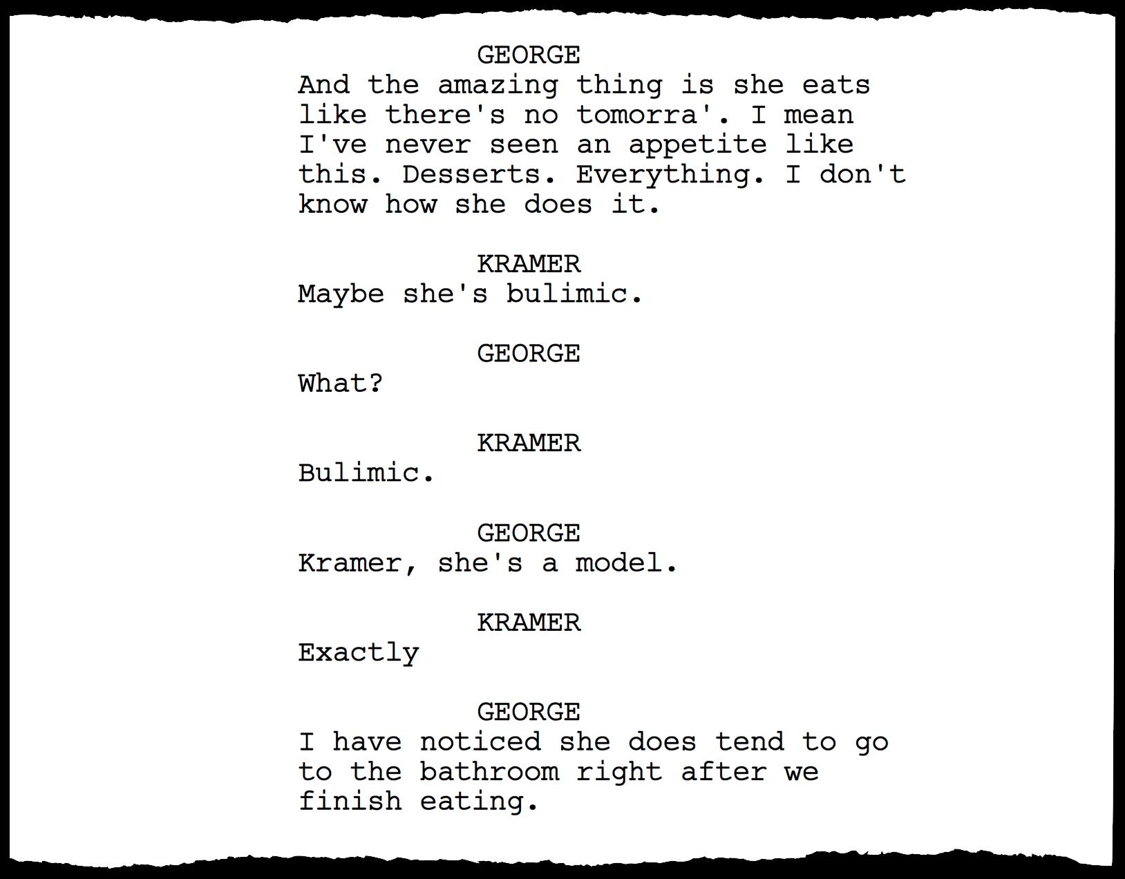 how to start writing a sitcom script
