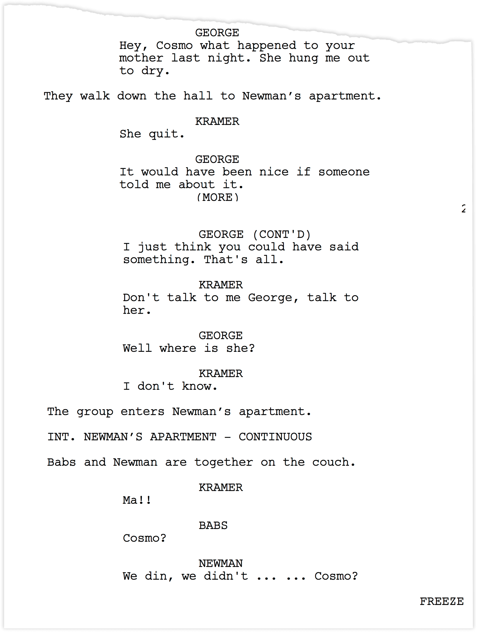 Seinfeld-Scripts-The-Switch-Group-Enter-Newmans-Apartment-StudioBinder-Production-Software