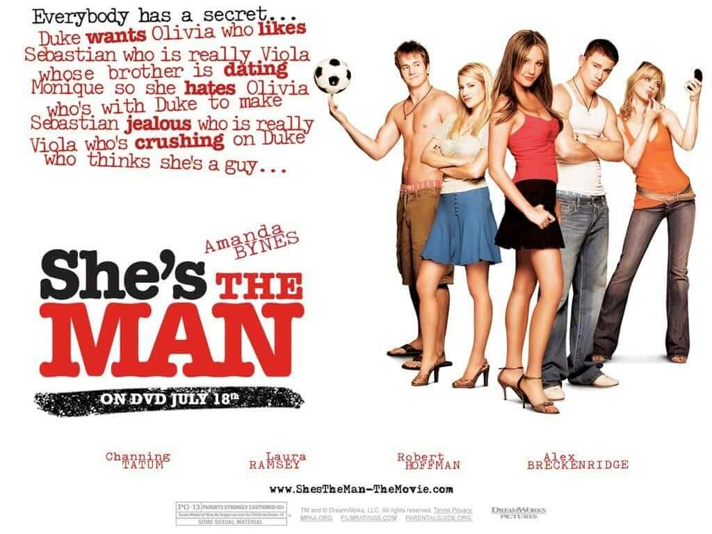 ublic Domain Public Domain Books Ideas for Screenplay She's the man