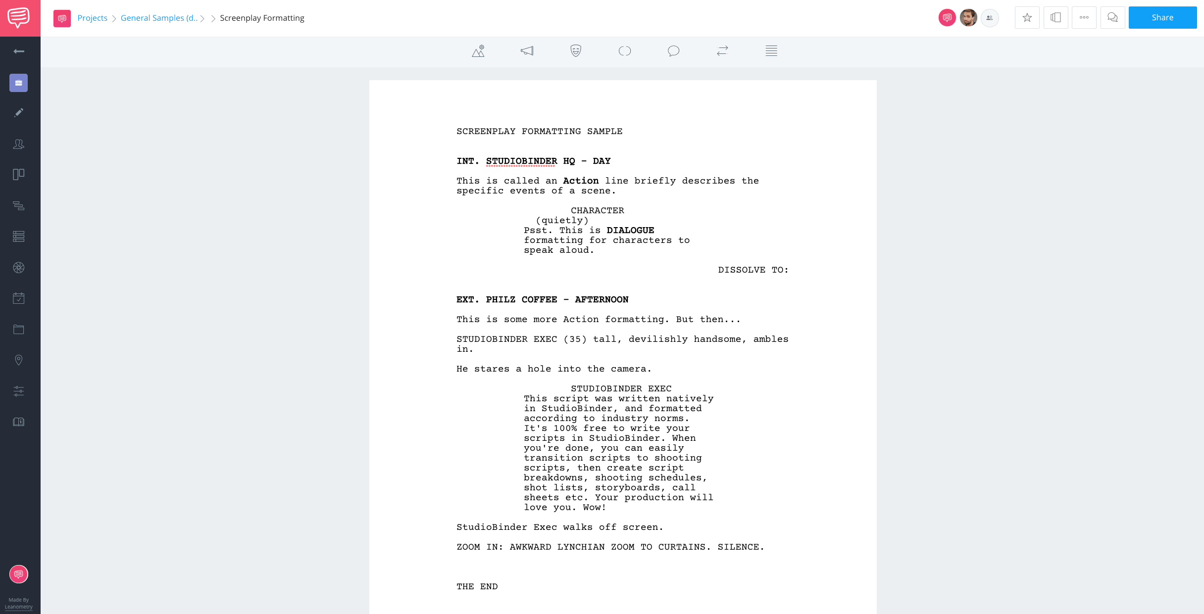 Screenwriting Contests - How to Format a Screenplay - StudioBinder Screenwriting Software