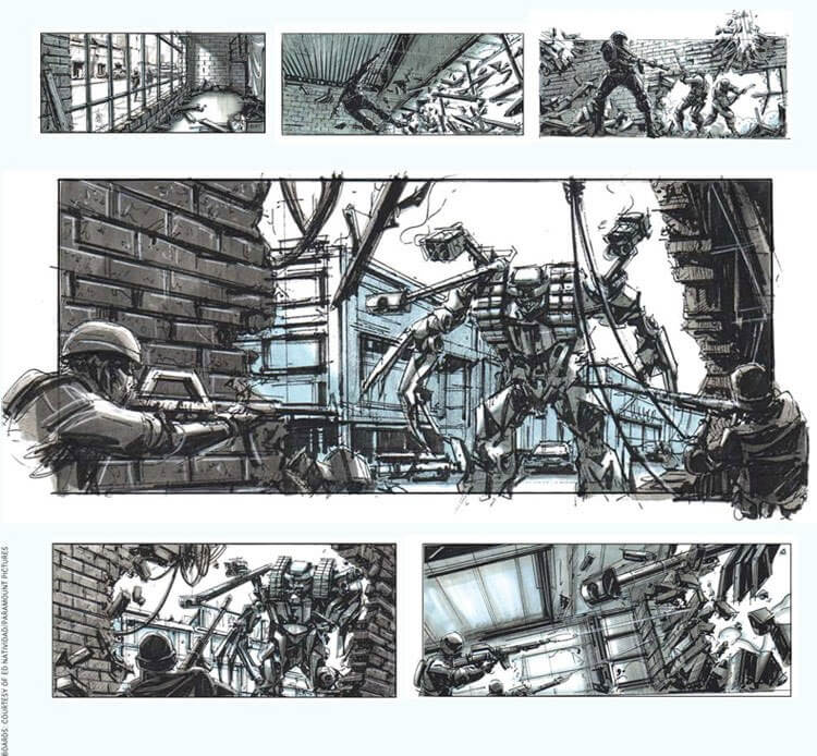 Storyboard Examples Transformers