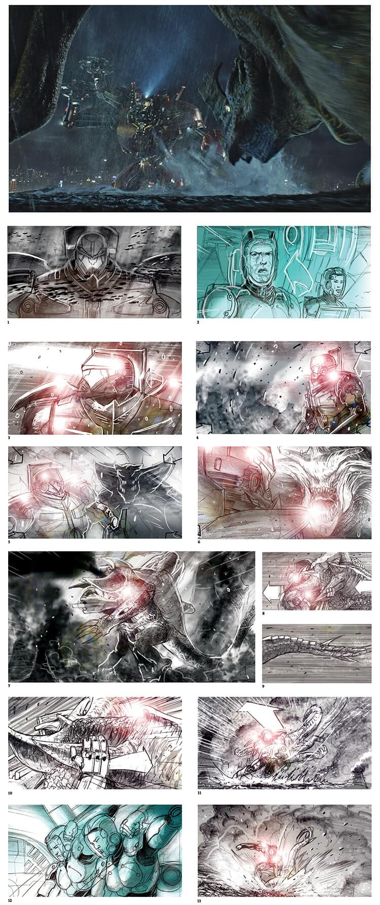 Storyboard Examples Pacific Rim